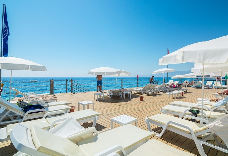 The Lumos Deluxe Resort Hotel - All Inclusive, Alanya, Khu tắm nắng