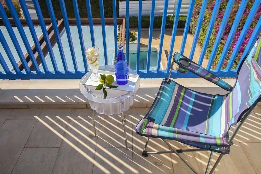 Villa, 2 slaapkamers (Tinos) - Balkon
