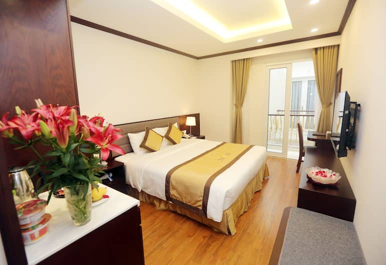 Lenid Hotel Tho Nhuom, Hanoi, Executive Double with City View or Internal View, Guest Room View