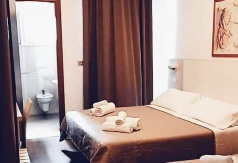 Hotel Butterfly, Rimini, Trojlôžková izba, Hosťovská izba