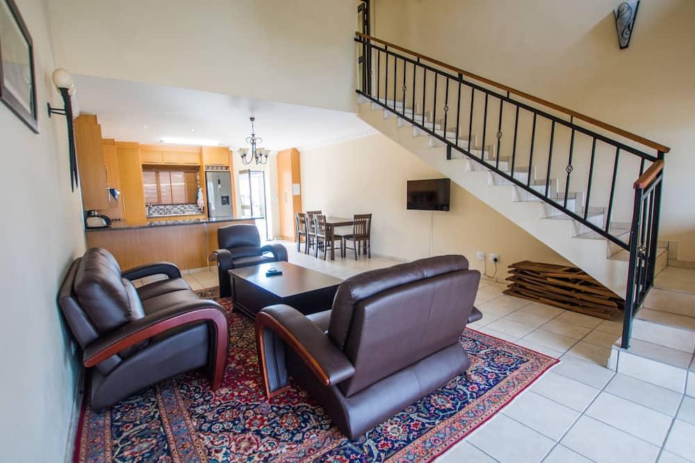 Two Bedroom Duplex Unit  - Living Area