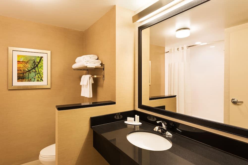 客房, 2 張加大雙人床, 非吸煙房 - 浴室