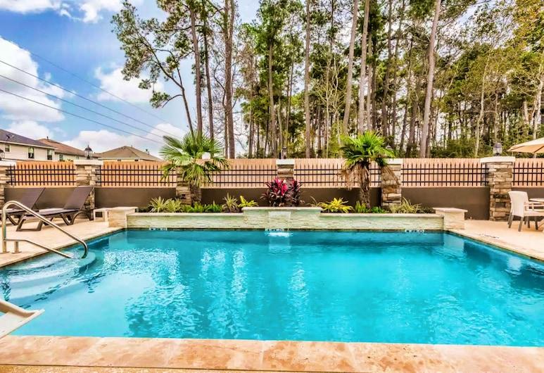 Comfort Suites Houston I-45 North, Houston, Outdoor Pool