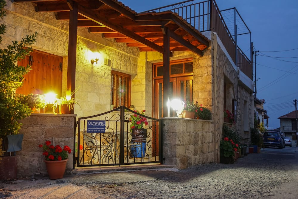 Dom tradycyjny, 2 sypialnie (Marios) - Taras/patio