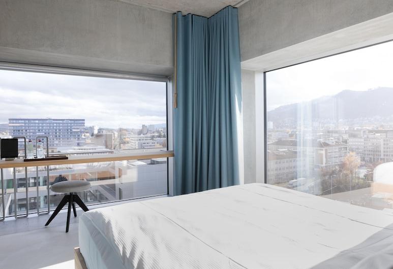 플래시드 호텔 디자인 & 라이프스타일 취리히, 취리히, Panorama Corner Room, 호텔에서의 전망