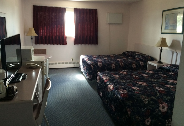 Plains Motor Inn, Stettler, Guest Room