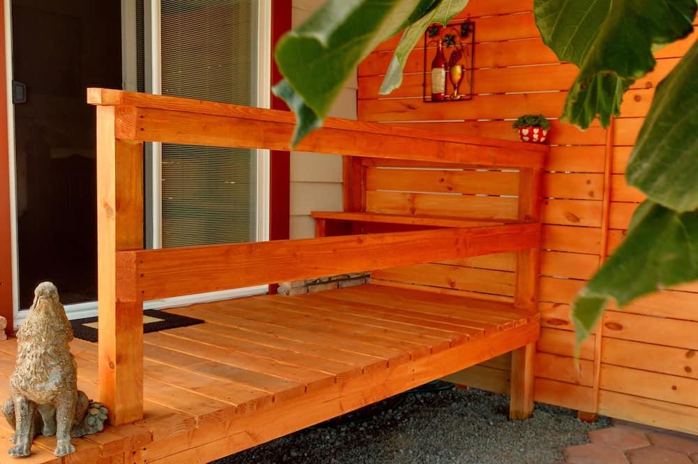 King Garden Suite, Garden View, Patio - Altan