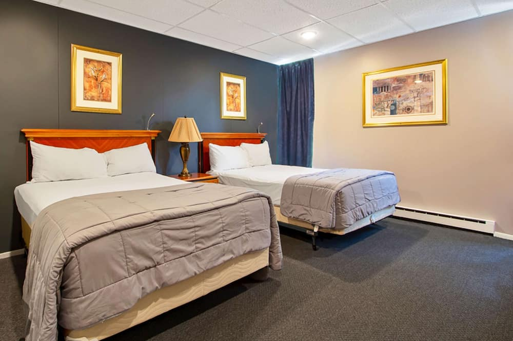 客房, 2 張標準雙人床, 非吸煙房, 冰箱和微波爐 - 客房