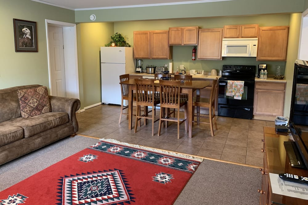Ģimenes kotedža - Dzīvojamā zona