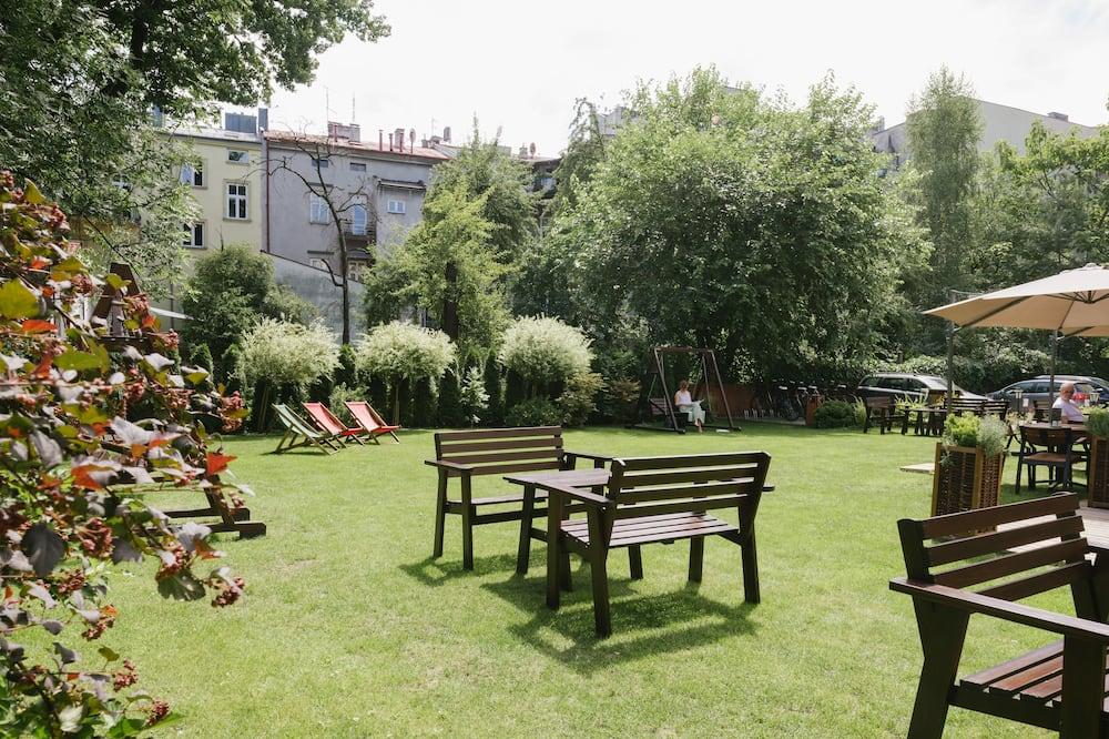 Doppel- oder Zweibettzimmer, Gartenblick - Blick auf den Garten