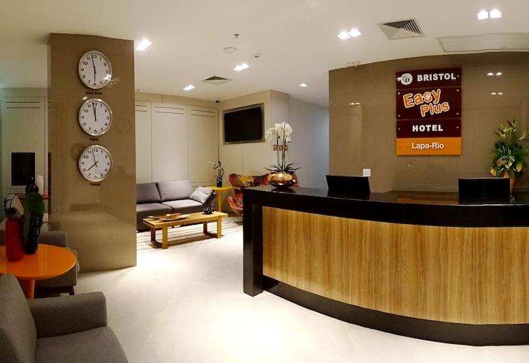 Bristol Easy Plus Hotel - Lapa Rio, Rio de Janeiro, Reception