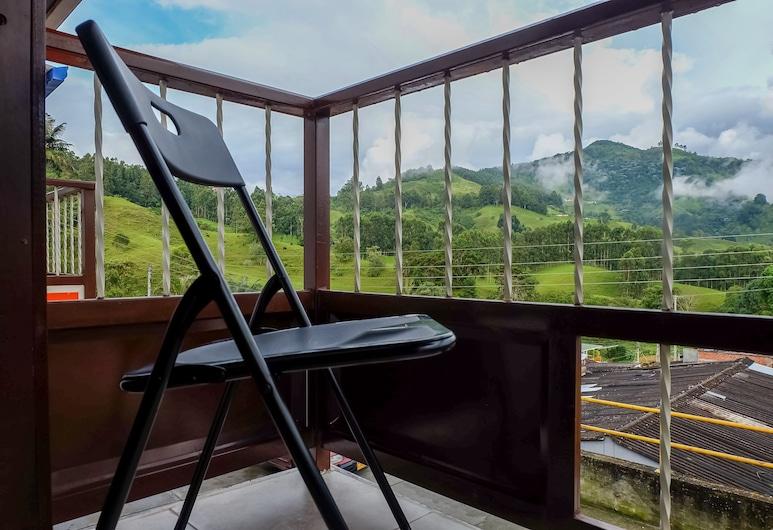 波旁薩倫托民宿酒店, 薩倫托, 高級雙人房, 1 張標準雙人床, 露台, 露台