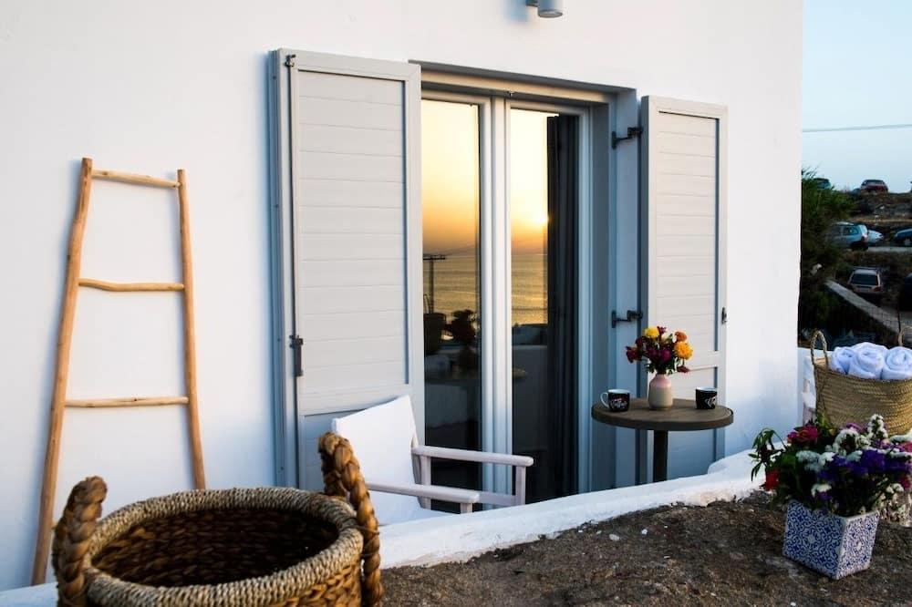 Dvojlôžková izba typu Deluxe, výhľad na more - Balkón