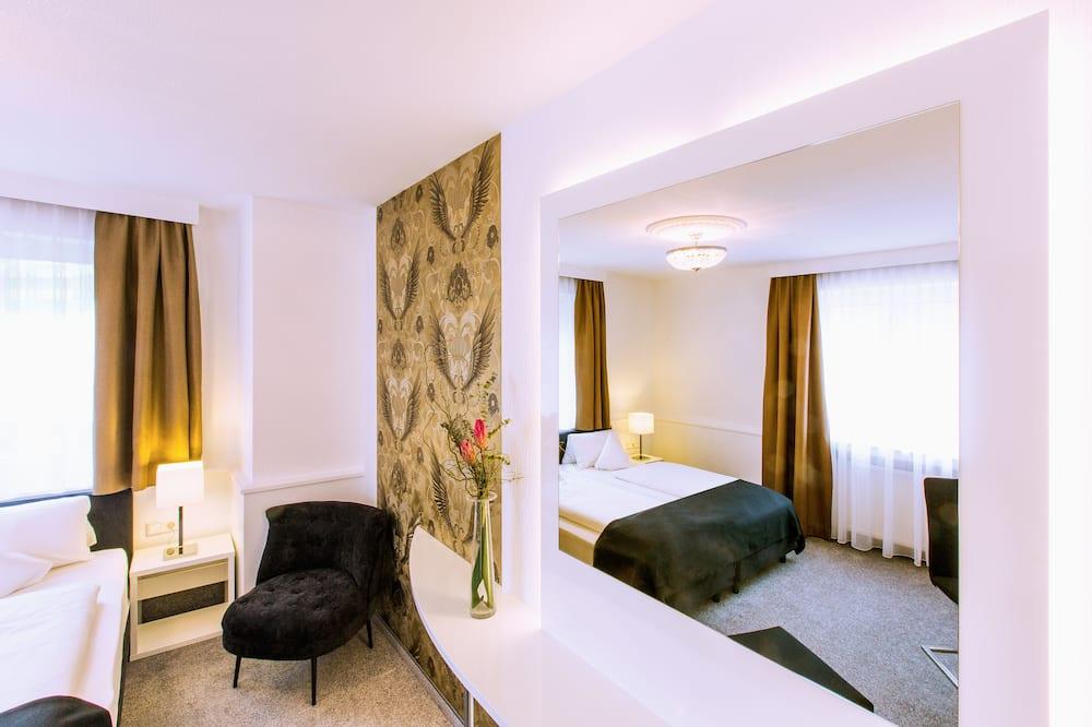 غرفة ديلوكس مزدوجة أو بسريرين منفصلين - غرفة نزلاء