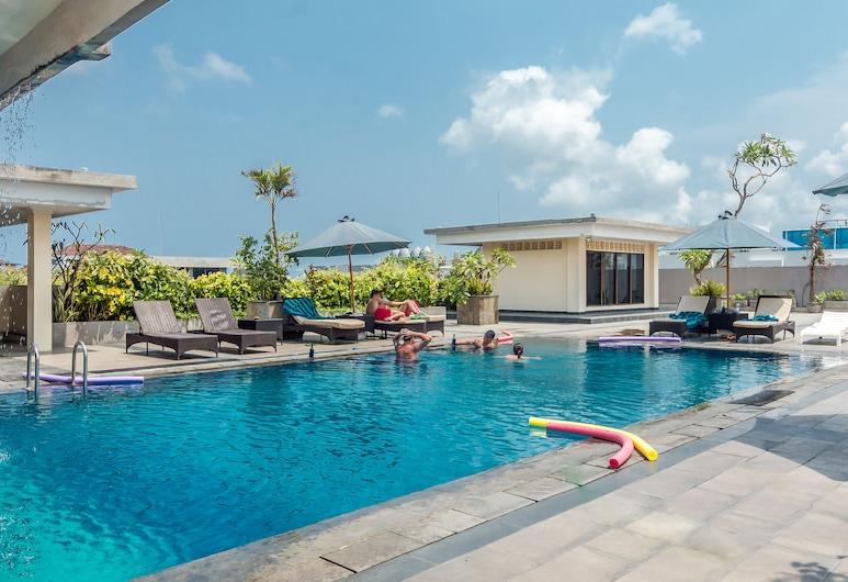 ZEN Rooms Legian Melasti, Kuta, Hồ bơi tại sân thượng