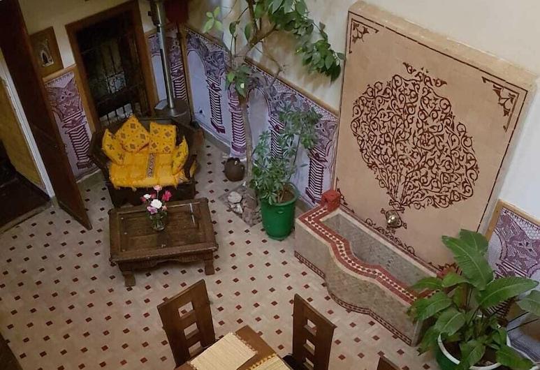 里亞德阿爾甘尼酒店 , 馬拉喀什, 標準雙人或雙床房, 庭園景