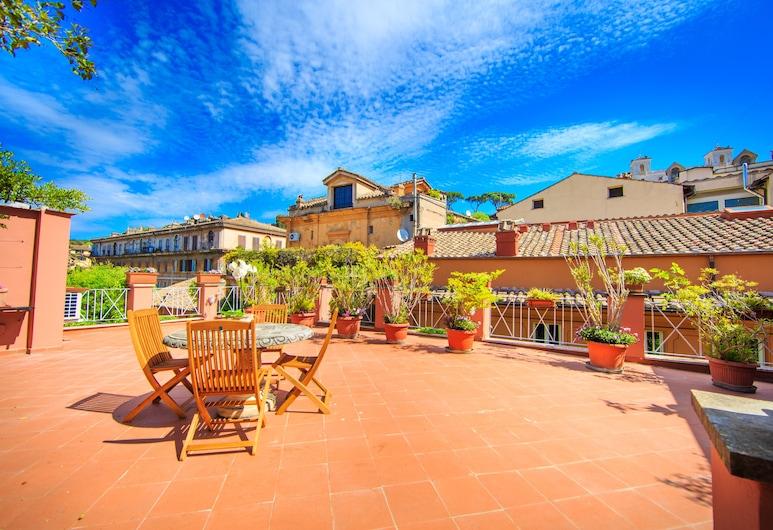 Babuino 79, Rome, Panoramic Studio Suite, Terrace (Jacuzzi), Terrace/Patio