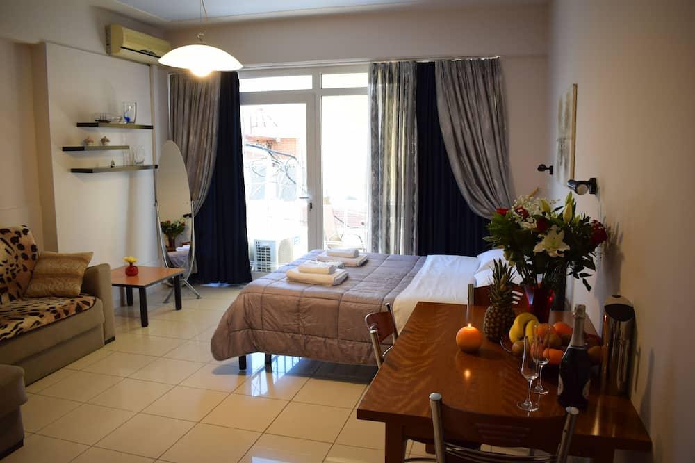 Štandardný apartmán, balkón, výhľad na mesto - Stravovanie v izbe