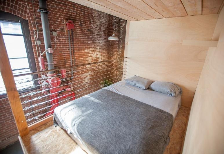 PodShare DTLA Arts District - Hostel, Los Angeles, Štandardná spoločná zdieľaná izba, 1 veľké dvojlôžko (in a shared dorm/no privacy), Hosťovská izba