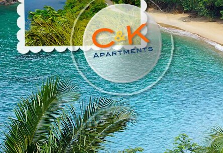 C & K Apartments, Castara, Vista Aérea