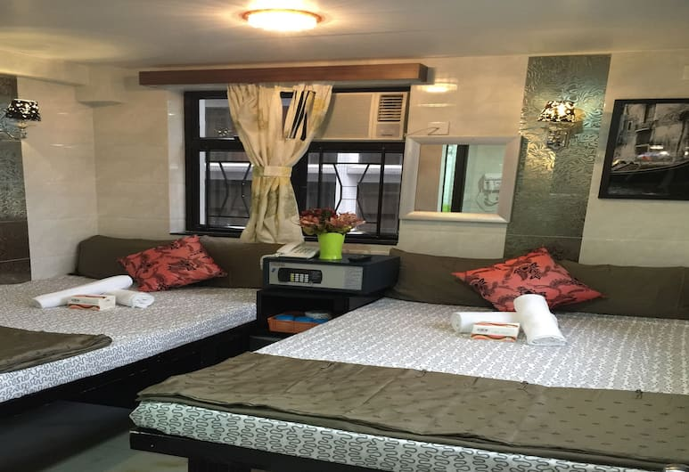 Hi-Inn, Kowloon, Standard Quadruple Room, Guest Room