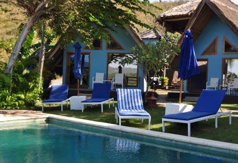 Blue Monkey Villas Resort & Ocean View, Kuta, Family Ocean View, Balcony View