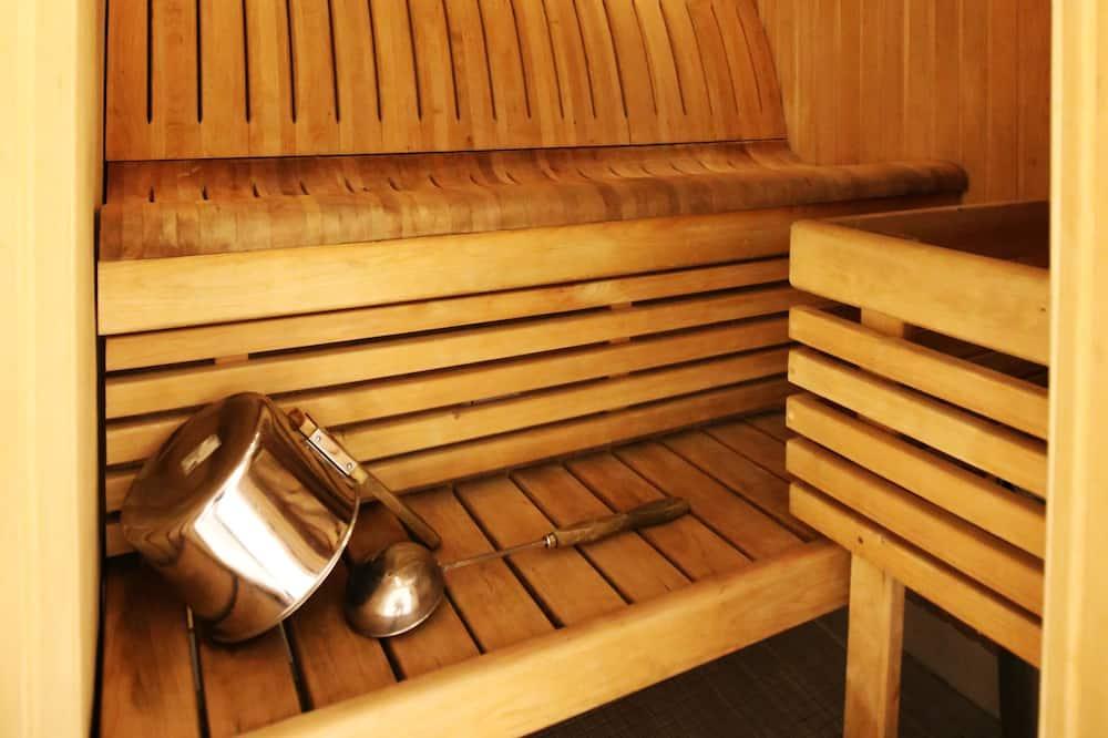 Superior Twin Room with Sauna - Bilik mandi