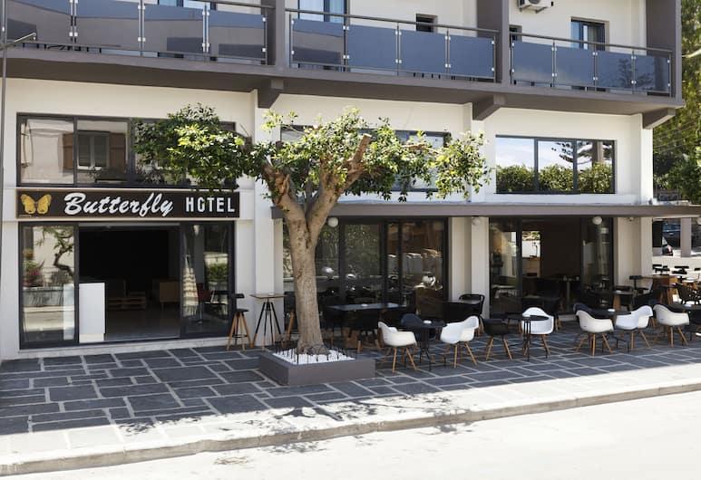 Butterfly Hotel, Rhodes, Pintu Masuk Hotel
