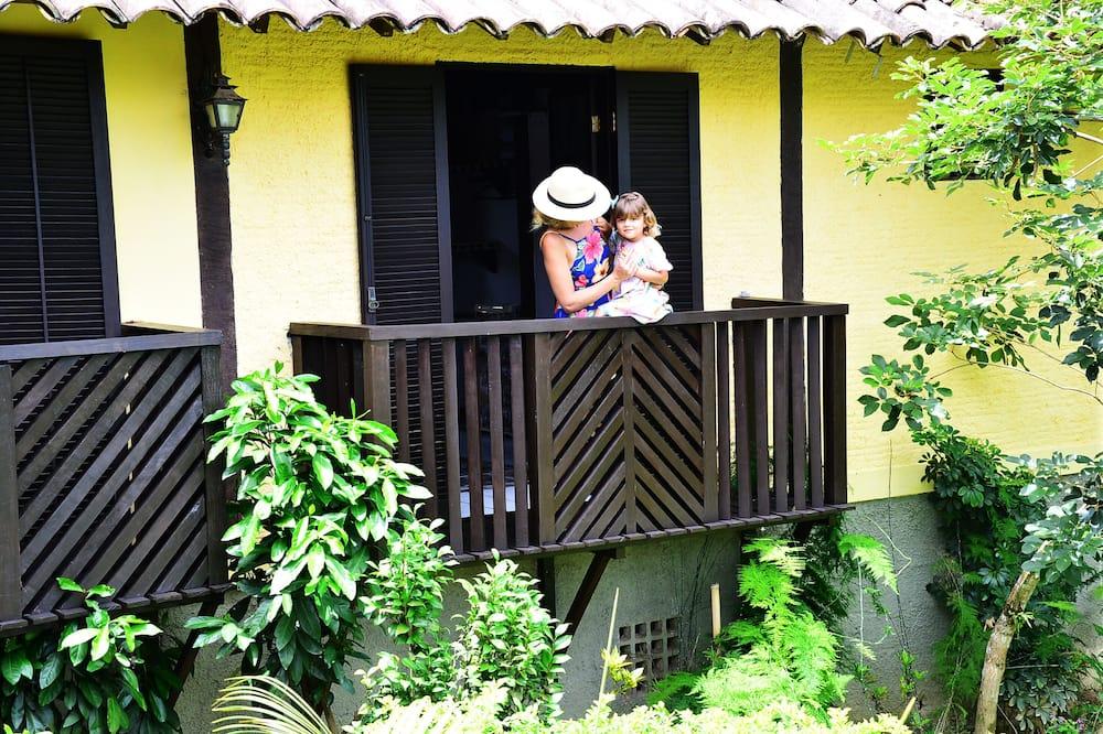 4 人部屋 (Dalia) - ガーデン ビュー