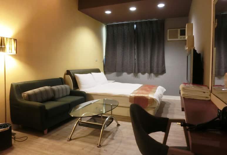 逢甲米果一館, 台中市, 雙人房, 1 張標準雙人床, 客房