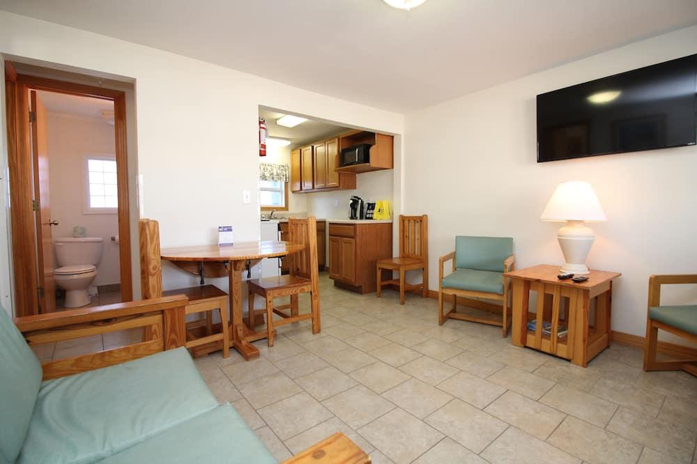 家庭公寓, 2 張標準雙人床, 非吸煙房, 廚房 - 客廳