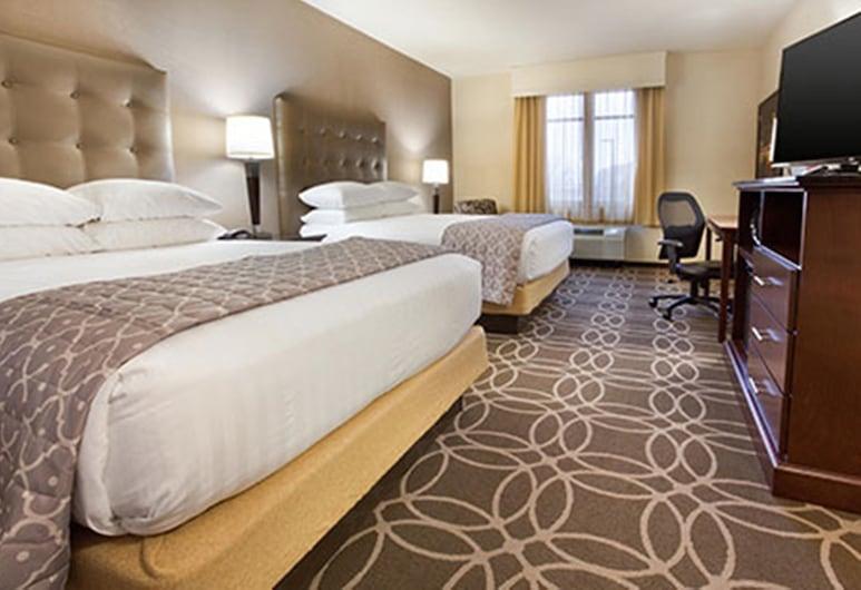 Drury Plaza Hotel Pittsburgh Downtown, Pittsburgh, Deluxe Room, 2 Queen Beds, Refrigerator & Microwave (Upper Floor), Guest Room