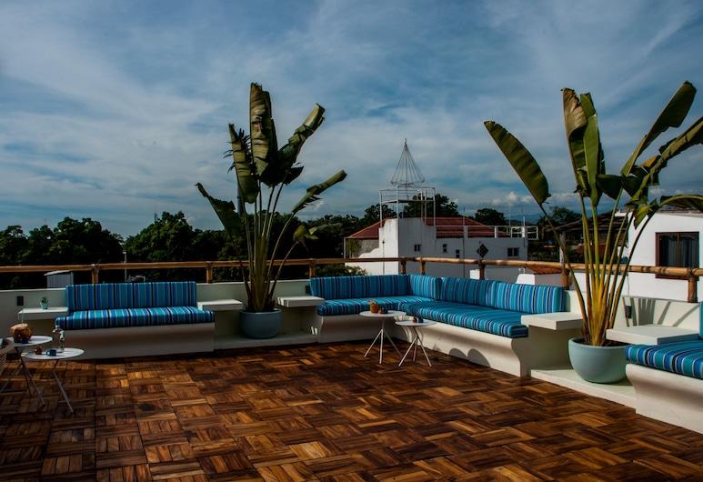 SHAVANNA Hotel Boutique, Puerto Escondido, Terraza o patio