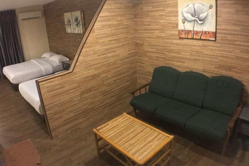 Family - 4 Suite - Svetainės zona