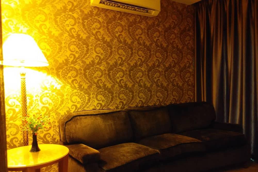 חדר דה-לוקס (Executive) - אזור מגורים