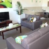 Apart Daire, 2 Yatak Odası, Kısmi Deniz Manzarası - Oturma Alanı