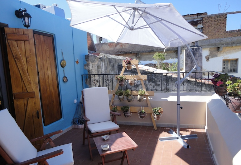 Dream Art Studios, Chania, Duplex, Terrace, City View, Terrace/Patio