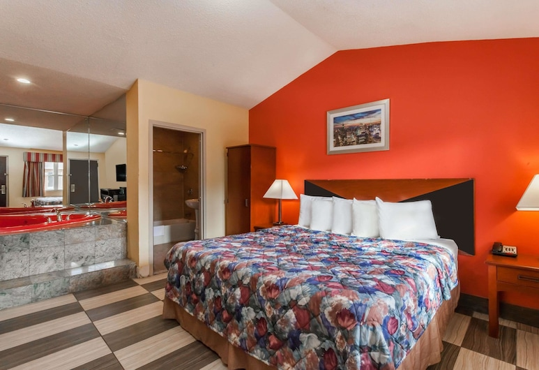 Travelodge by Wyndham Jersey City, Jersey City, Suite Studio, 1 très grand lit, non-fumeurs, Chambre