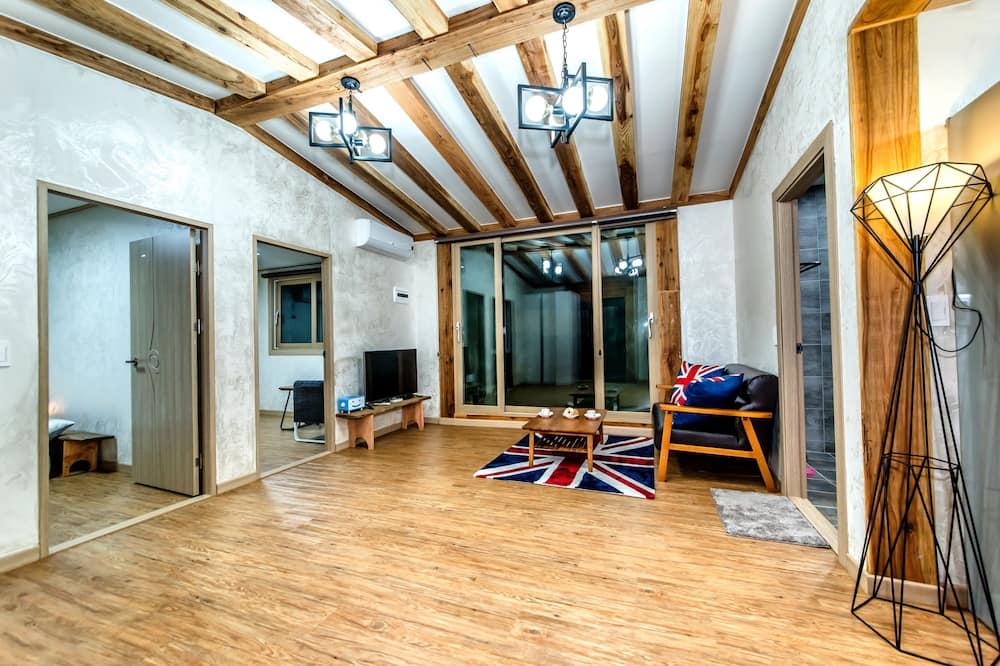 Vila, 2 spálne (Bakguri, 1 Japanese Futon) - Obývačka