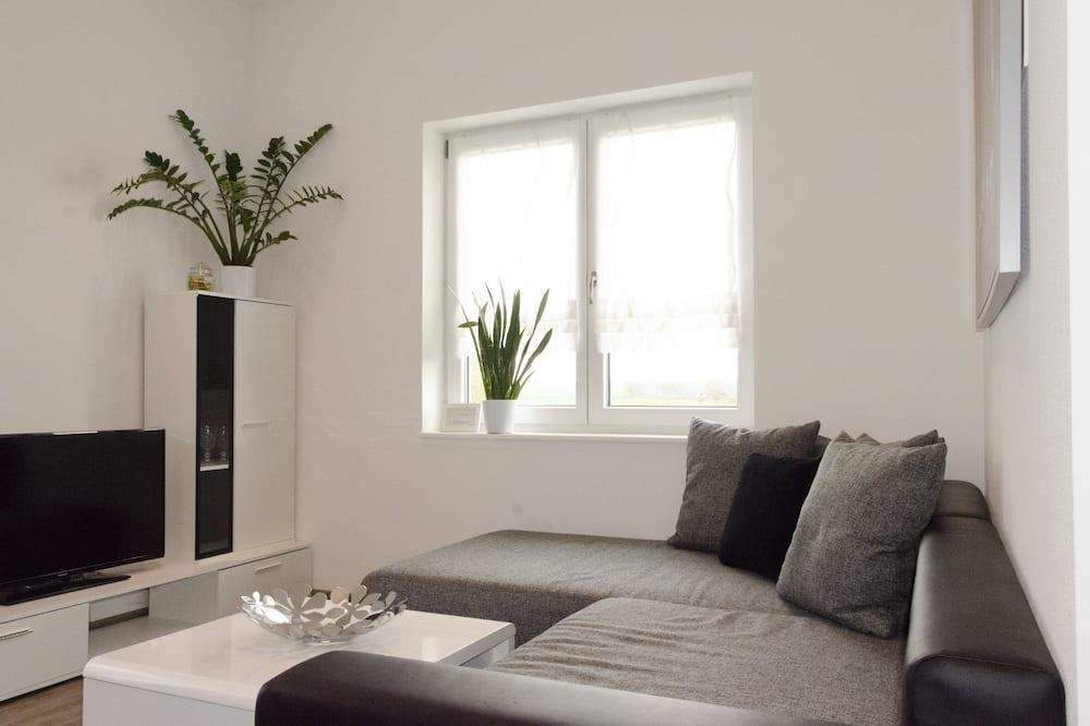 Comfort appartement, 1 slaapkamer, Balkon - Woonruimte