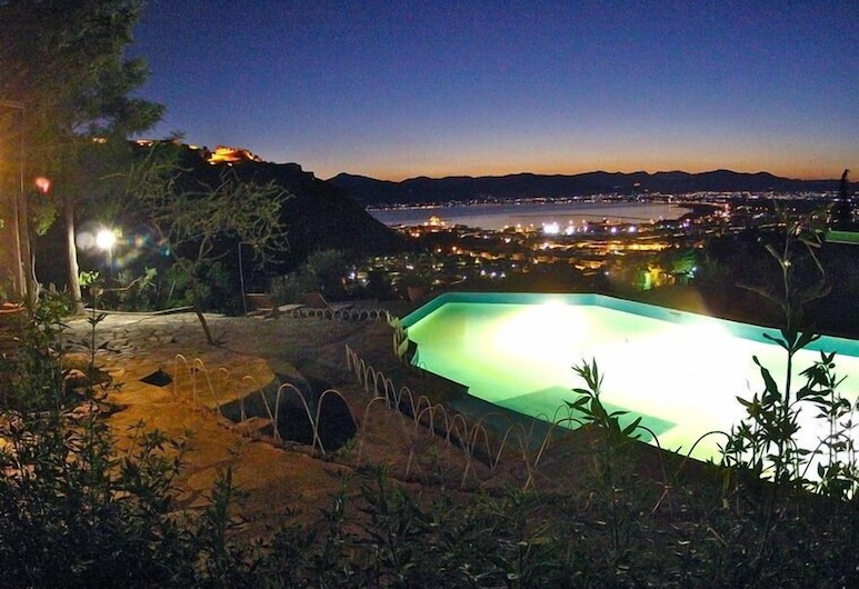 Dafnes Residence, Nafplio, View from property