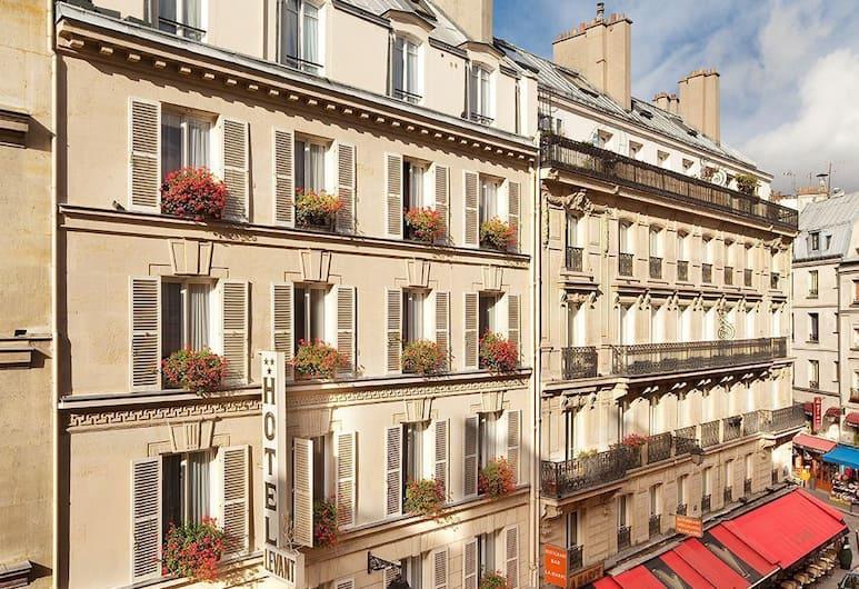 Hôtel du Levant, Paris, Hotel Front