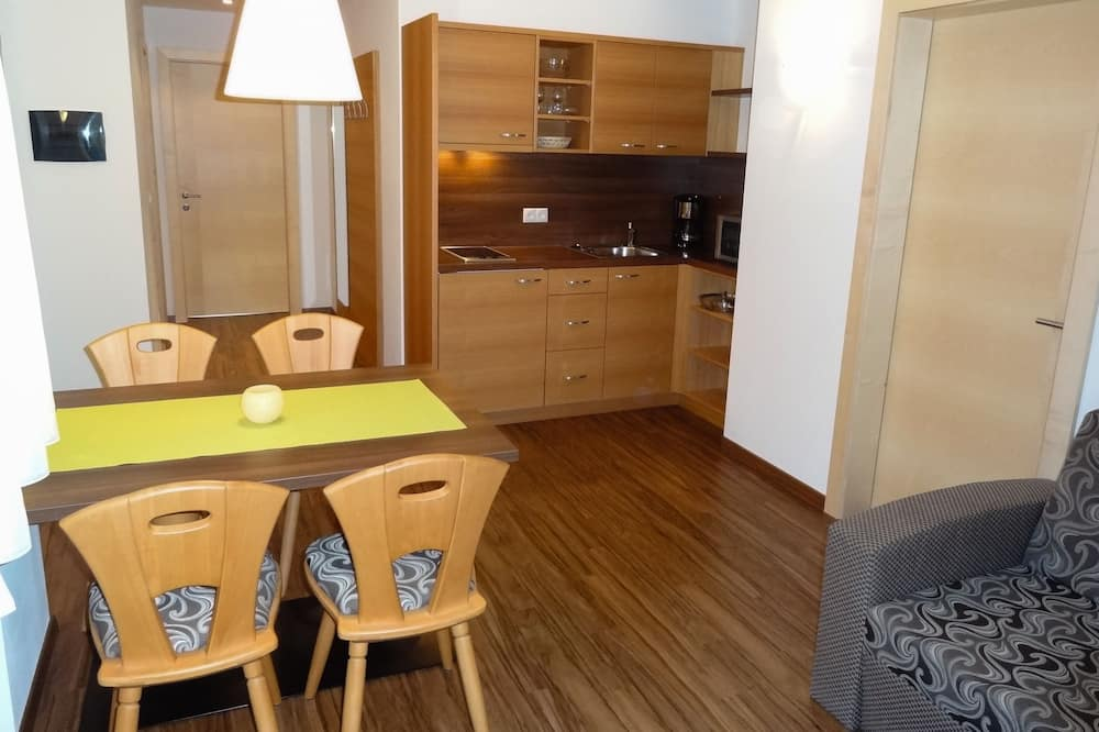 家庭公寓 - 客房內用餐