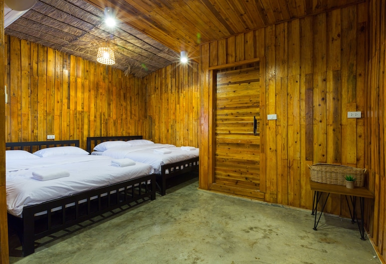 Trica Hostel, Bangkok, Private Room / 2 King Size Beds, Pokoj