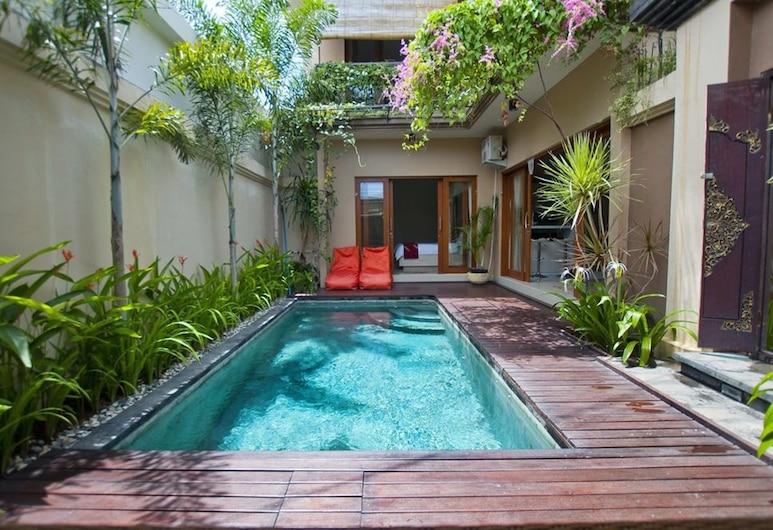 Villa Bougainville, Seminyak, Royal villa, 2 slaapkamers, privézwembad, Kamer