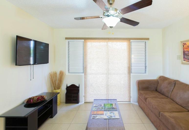 New Kingston Guest Apartment IV, Kingston, Superior-huoneisto, 1 makuuhuone, Keittiö, Executive-taso, Oleskelualue