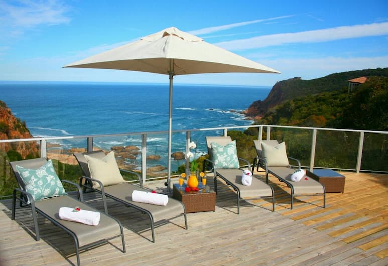 Headlands House Guest Lodge, Knysna, Sundeck