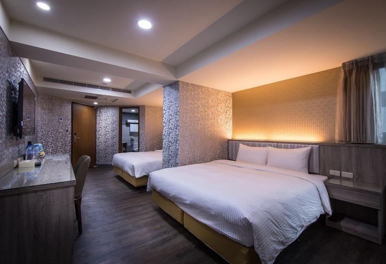 美之旅商務飯店, 台中市, 家庭客房, 客房