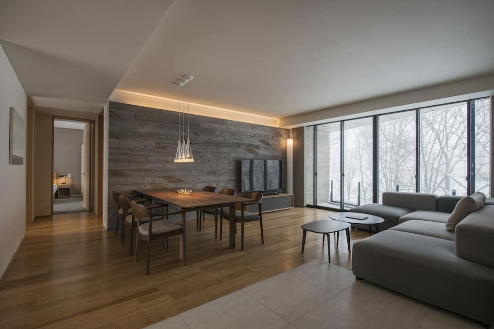 Appartement, 2 chambres, non-fumeurs (Forest View) - Coin séjour