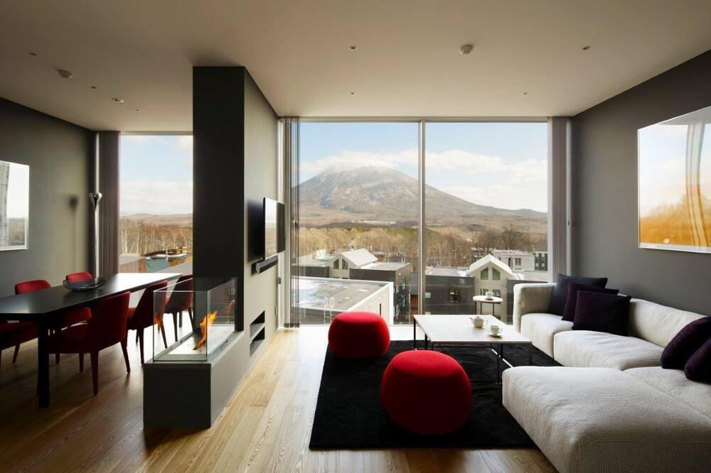 Deluxe Apartment, 2 Bedrooms (Yotei View) - Bilik Rehat